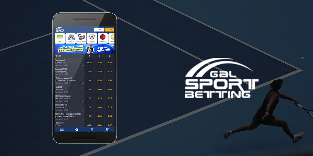 Gal Sports Betting Mobile App
